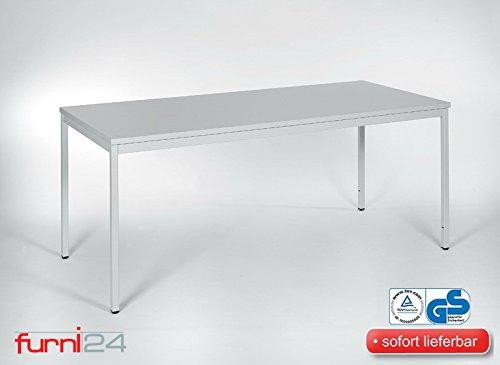 Mehrzwecktisch-Konferenztisch-grau-RAL-7035-pulverbeschichtet-140-cm-x-80-cm-x-75-cm