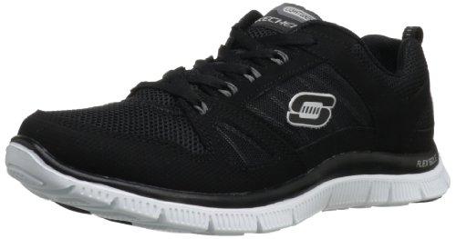 skechers-flex-appeal-spring-fever-damen-sneakers-schwarz-bkw-40-eu