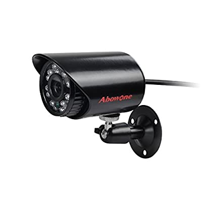 ABOWONE 700TVL Analog Camera Bullet Security Camera for Outdoor Use with Superior Night Vision