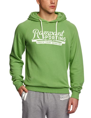 Rampant Pop Over Hoody Men's Sweatshirt Poison Green Medium