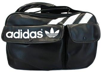 Adidas Original 3STR Airline Black White Mens Womens Unisex Shoulder Bag  special discount b87cbdf83dbd8
