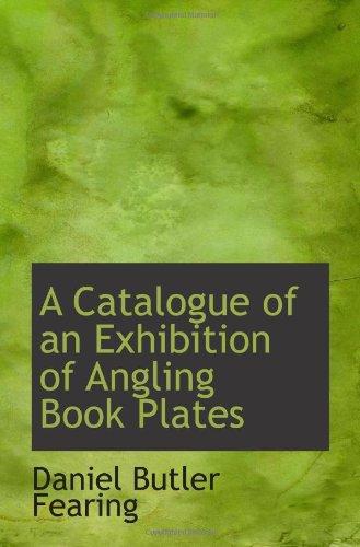 Un catálogo de una exposición del libro placas de pesca