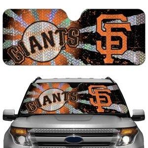 San Francisco Giants Auto Sun Shade by Hall of Fame Memorabilia