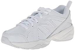 New Balance KX624 Lace-Up Training Shoe (Little Kid/Big Kid),White,1.5 M US Little Kid