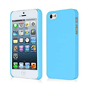 WOW Imagine(TM) Rubberised Matte Hard Case Back Cover for Apple iPhone 4 / 4s (Sky Blue)