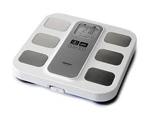 Omron BF400 Digitale Personenwaage mit Körperfettmessung und BMI-Anzeige