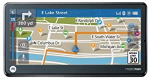 Motorola Motonav TN765T 5.1-Inch Bluetooth Portable GPS Navigator