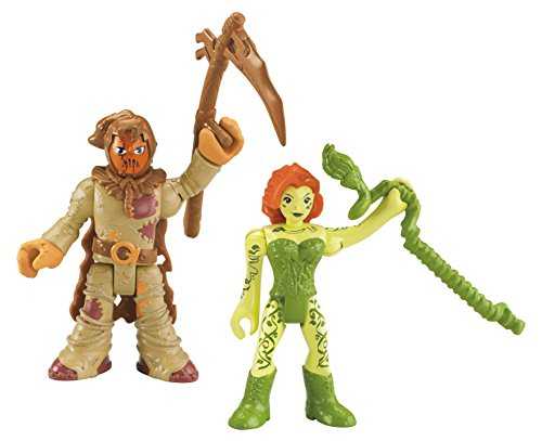 Fisher-Price Imaginext DC Super Friends Scarecrow and Poison Ivy Figure