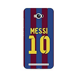 Ebby Messi 10 Premium Printed Case For Asus Zenfone Max