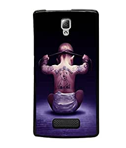 printtech Cool Kid Love Mommy Back Case Cover for Lenovo A2010