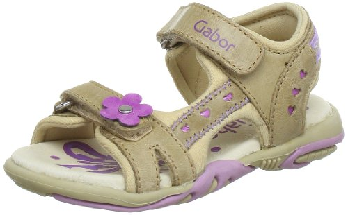 Gabor kids Gina Sandals Girls Beige Beige (beige) Size: 35/2.5 UK