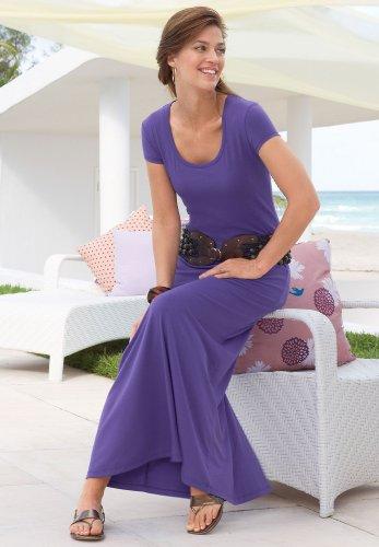 Knit Dress Long Drop-Waist