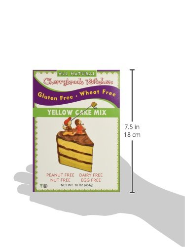 cherrybrook kitchen gluten free dreams yellow cake mix 16 4 oz food