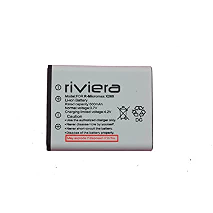 Riviera 600mAh Battery (For Micromax X260)