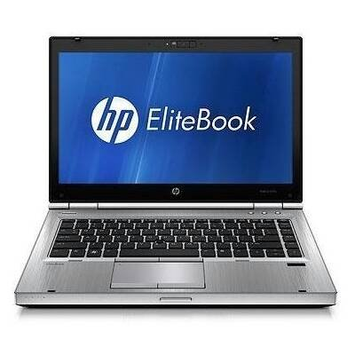 HP EliteBook 8470p B5P27UT 14 LED Notebook Intel Core i7-3520M 2.9 GHz 4GB DDR3 500GB HDD DVD SuperMulti AMD Radeon HD 7570M Bluetooth Windows 7 Masterly 64-bit Platinum