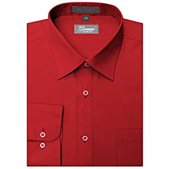 Giovanni Men 39 S Dress Shirt At Amazon Men S Clothing Store