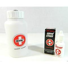 Bones Swiss Skate Speed Cream + Cleaning Unit Kit by Bones