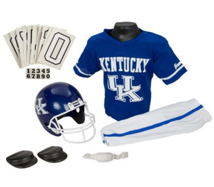 Kentucky Wildcats Kids/Youth Football Helmet and Uniform Set
