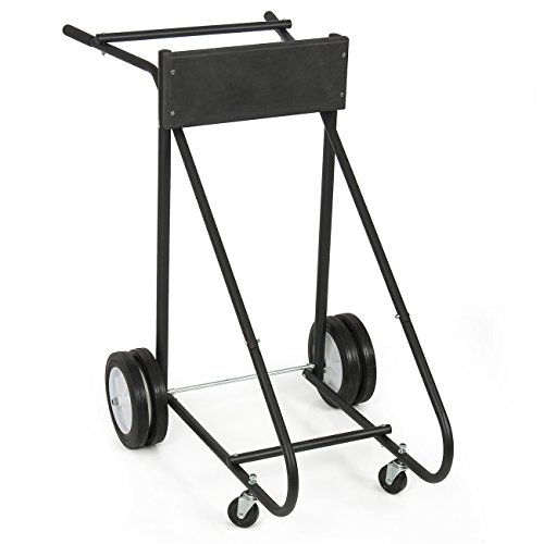 ARKSEN© 315 LB Outboard Boat Trolling Motor Stand Carrier Cart Dolly