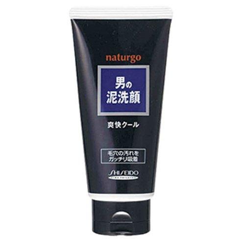 ナチュルゴ メンズ クレイ 洗顔フォーム 130g