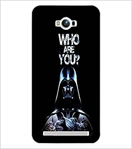 PrintDhaba Quote D-3763 Back Case Cover for ASUS ZENFONE MAX ZC550KL (2016) (Multi-Coloured)
