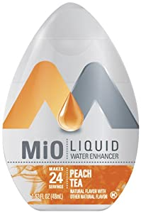 MIO Liquid Peach Tea, 1.62-Ounce, (Pack of 4)