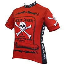 World Jerseys Jolly Roger Pirate Cycling Jersey Jolly Roger Pirate Large