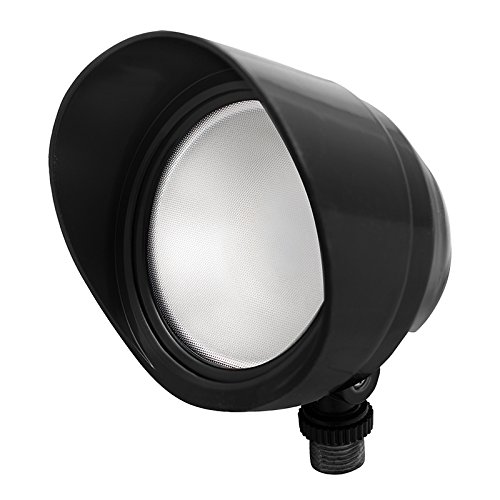 Rab 12 Watt Led Bullet Flood Neutral White 120V Black