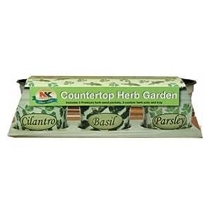 Countertop Herb Garden : Amazon.com : Jiffy K3H Countertop Herb Garden Kit 7 Count ` : Plant ...
