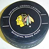 Chicago Blackhawks NHL Hockey Official Game Puck 2009-2010