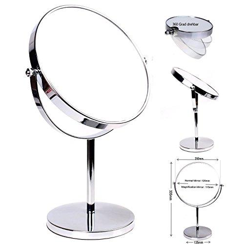himry cosmtica espejo espejos para bao espejo de mesa pulgadas espejo de rotacin cm espejos con cara doble estndar