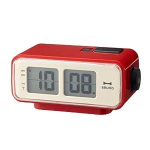 retro digital flip desk alarm clock red home kitchen. Black Bedroom Furniture Sets. Home Design Ideas