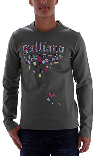 john-galliano-mens-sweatshirt-green-green-small