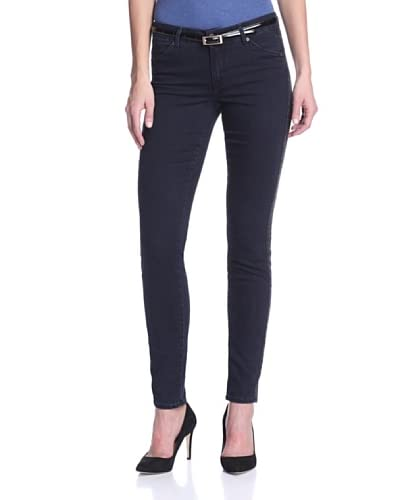 CJ by Cookie Johnson Women's Tuxedo-Stripe Skinny Jean
