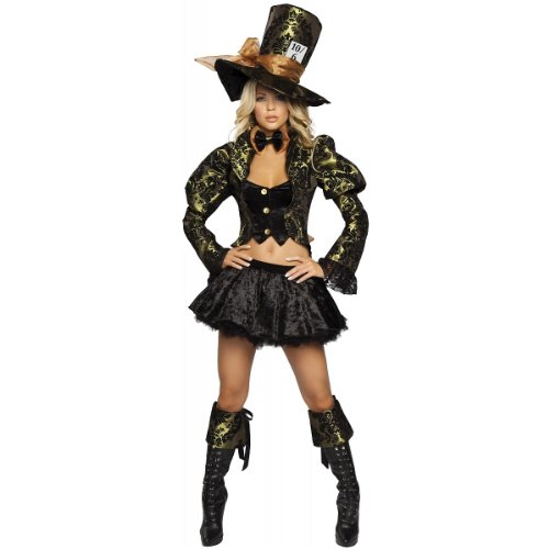 Tea Party Tease Costume - Medium/Large - Dress Size 6-10