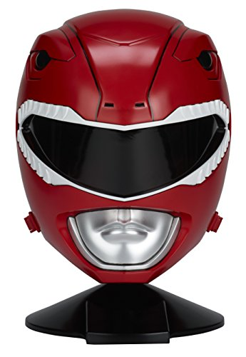 Power Rangers Mighty Morphin Legacy Ranger Helmet, Red