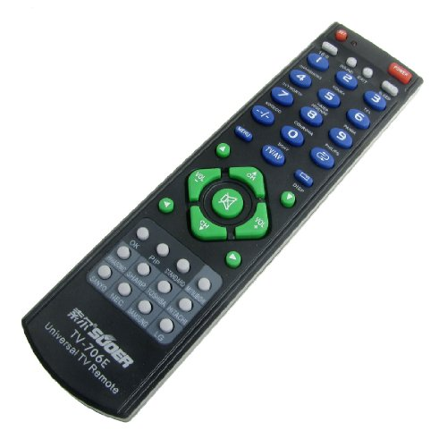 Gino Black Universal TV RC Remote Controller for Hisense