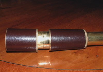 Leather/Solid Brass Nautical Marine Telescope 18 Inch (A1/18)