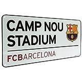 "Barcelona FC - Strassenschild ""Camp Nou Stadium"""