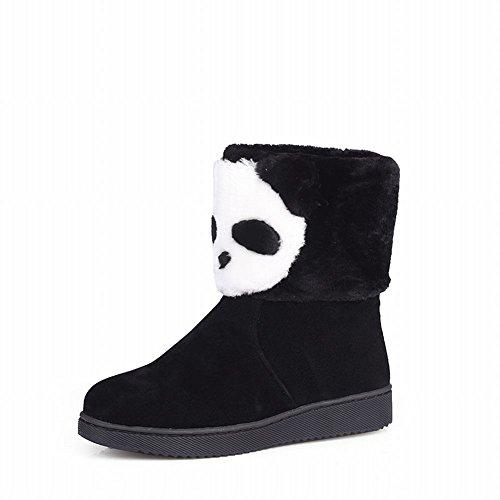 Carol-Shoes-Cute-Womens-Winter-Use-Fashion-Panda-Pattern-Lovely-Warm-Flat-Snow-Boots