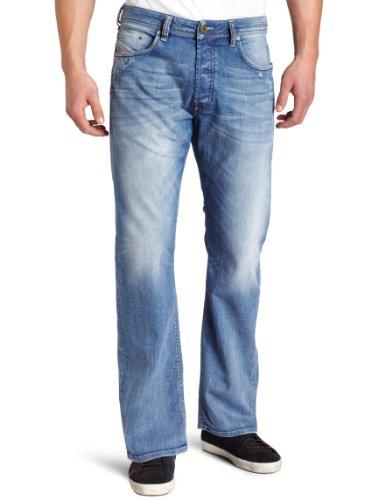 Diesel Men's Larkee Relaxed Regular Straight-Leg Jean 008W7 by Diesel