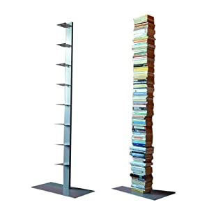 Radius Bücherregal Booksbaum 2 Silber einreihig stehend gross  GartenBewertungen