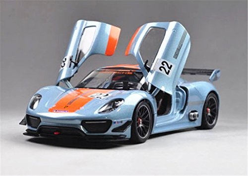 1:24 Welly Porsche 918 RSR Diecast Model Car New in Box (Diecast Car Models compare prices)