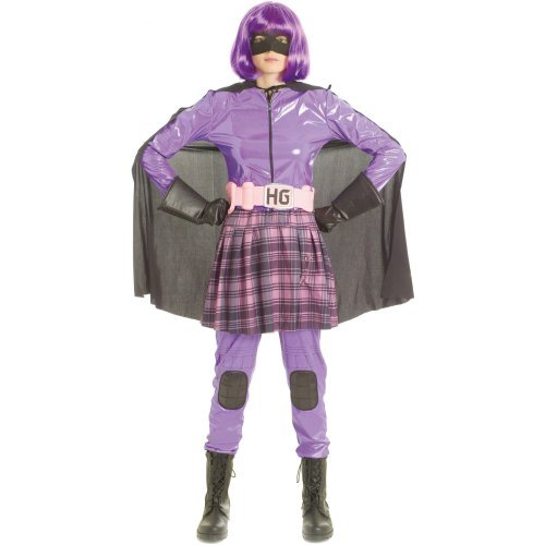 Paper Magic Women's Kick Ass Deluxe Hit Girl Costume