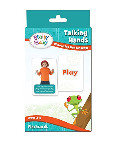 Brainy Baby Sign Language Flashcard Set Talking Hands: Discovering Sign Language Deluxe Edition (Your Baby Can Read Deluxe compare prices)