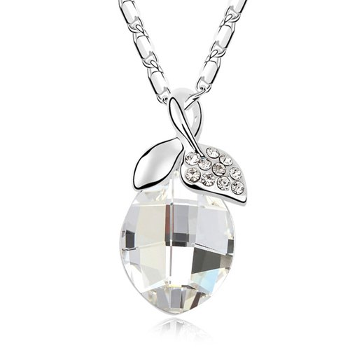 Mqueen Cute Apple Pendant Necklace front-449229