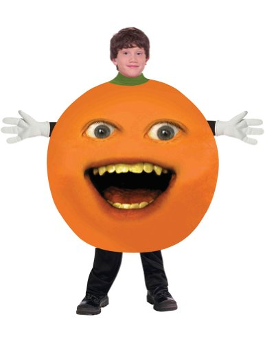 girls - Annoying Orange Child Costume Halloween Costume - Most Teens