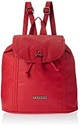 Caprese Evelyn Women's Messenger Bag (Red)