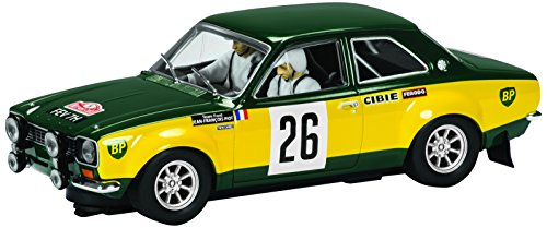 Scalextric Classic Ford Escort Mk I BP Racing Slot Car (C3635/1:32nd Scale)