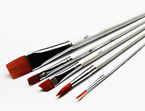 tp7-pointed-tip-white-bar-nylon-hair-watercolor-acrylic-brush-set-of-6-pieces-artists-paint-brush-ar